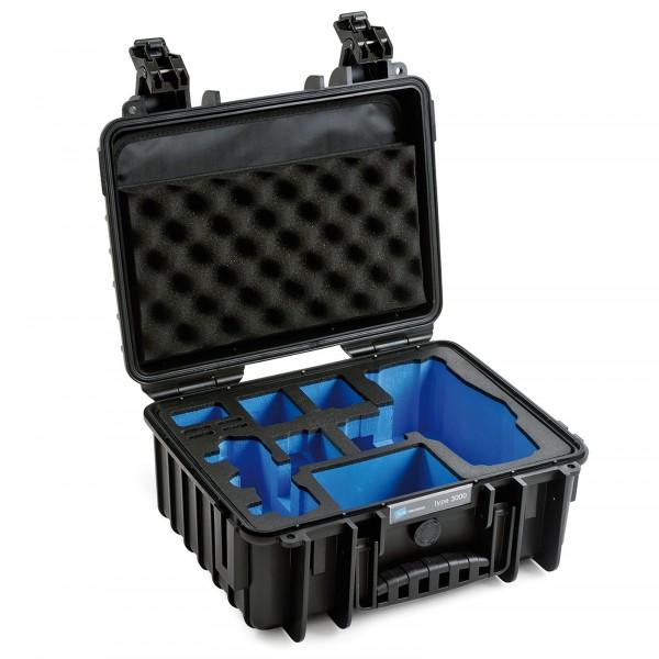 B&W Copter Case Typ 3000 für DJI Mavic 2 (Pro/Zoom) black Innenansicht leer