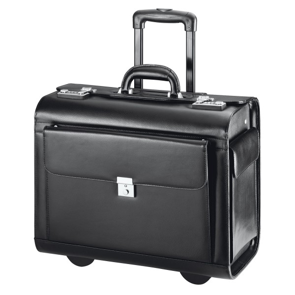 d&n Business & Travel Pilotenkoffer 45 cm 2 Rollen schwarz