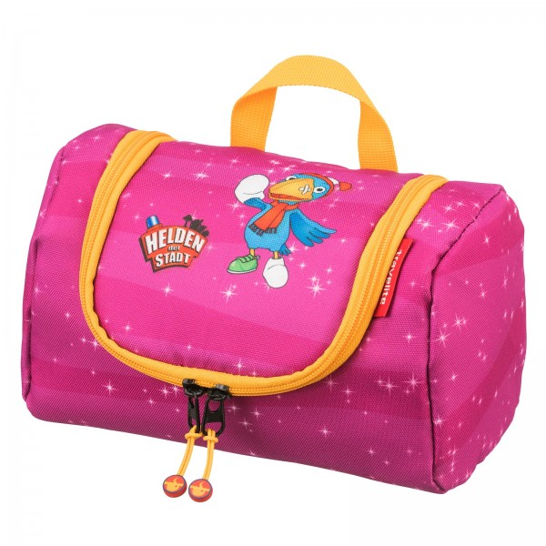 travelite HELDEN DER STADT Kulturtasche pink