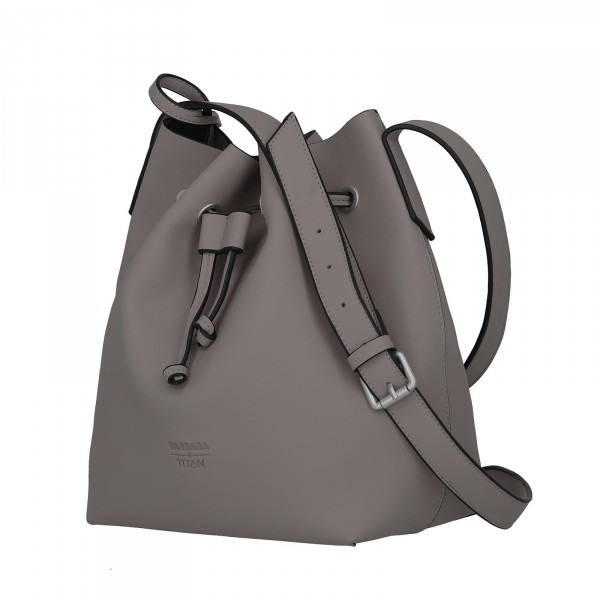 TITAN Barbara Pure Bucket Bag 29 cm grey