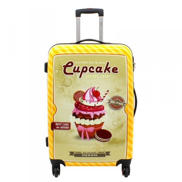 F23 Voyage Cupcake Trolley 76 cm 4 Rollen Cupcake