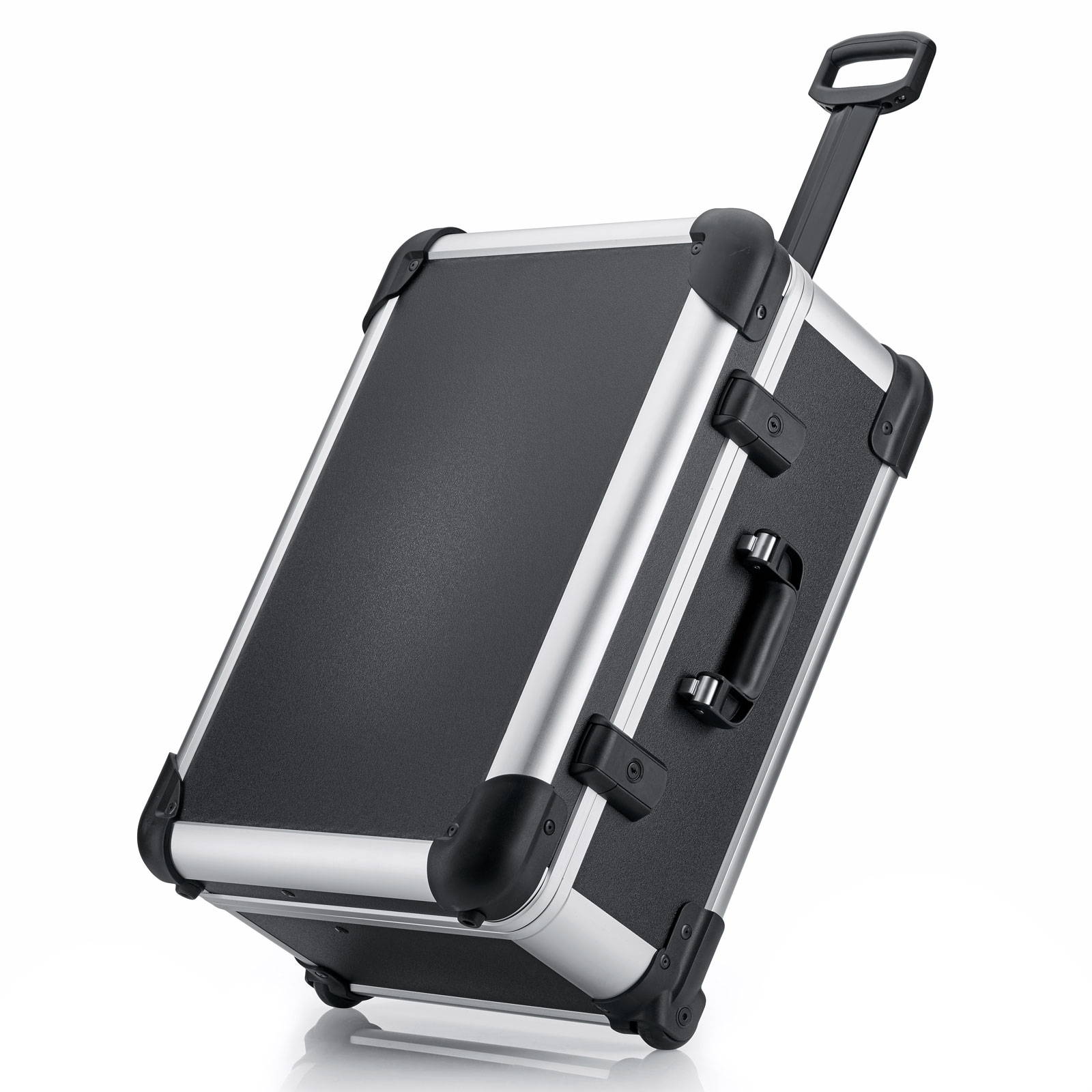 bwh Koffer  Robust Case Transportkoffer Typ 4 mit  Transportkoffer  2 Rollen