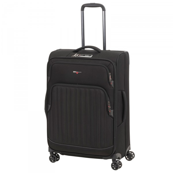 Hardware Profile Plus Soft Trolley 65 cm 4 Rollen erweiterbar black