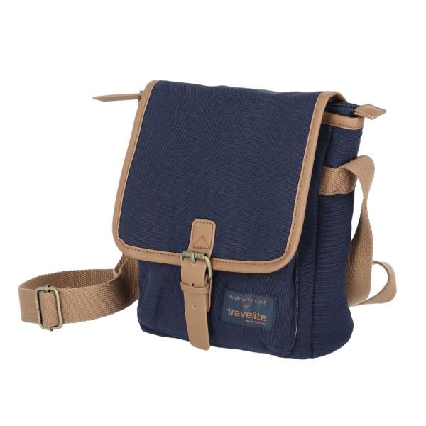 travelite Hempline Crossover Tasche 25 cm marine