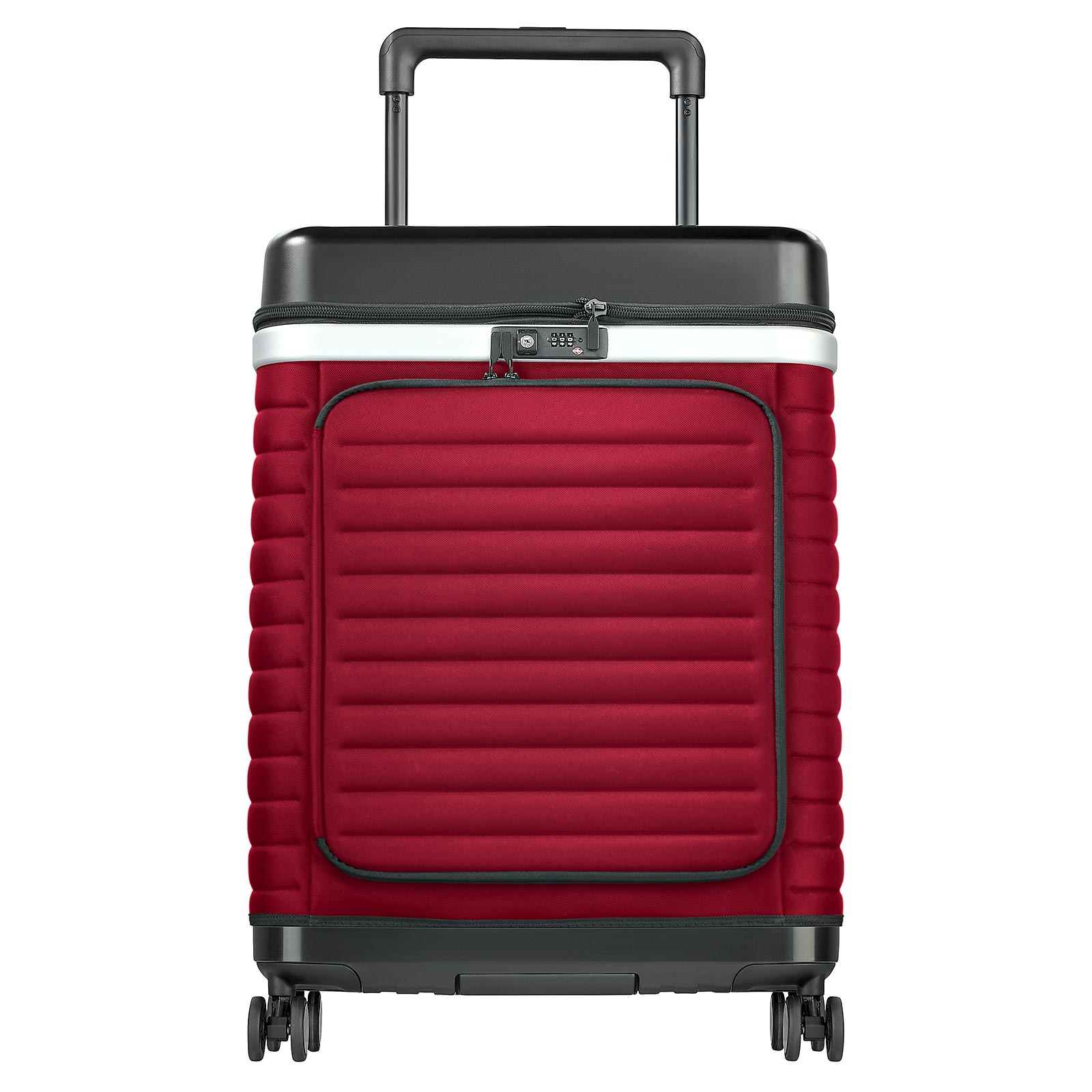 Pull Up Case Reisekoffer Suitcase Trolley 76 cm 4 Rollen 87 l - Rot CAP-RED-L