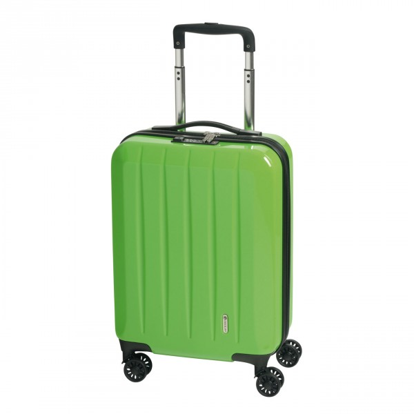 CHECK.IN London 2.0 Kabinentrolley 55 cm 4 Rollen green Frontansicht