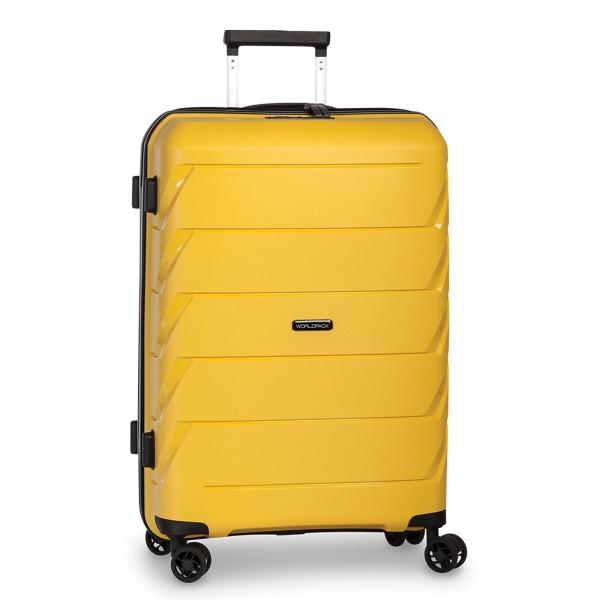 Fabrizio Capri Trolley 66 cm 4 Rollen gelb