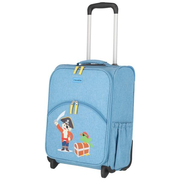 travelite Youngster Kindertrolley 44 cm 2 Rollen blau