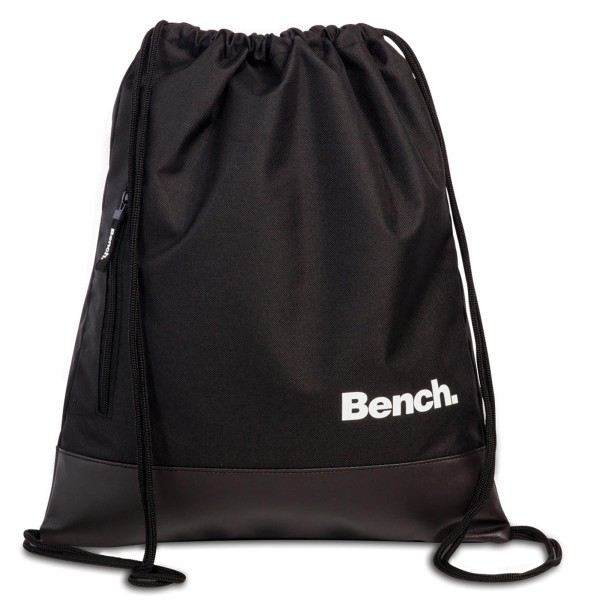 Bench Classic Kordelzug-Rucksack 45 cm schwarz
