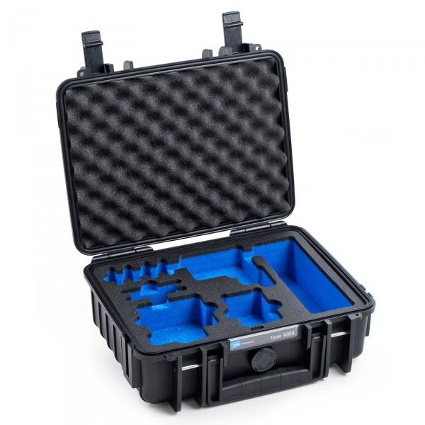 B&W GoPro Case Typ 1000 in schwarz für GoPro Hero 5 Front