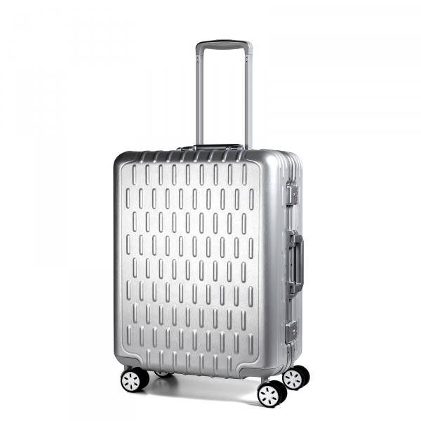March15 Discovery Kabinentrolley 52 cm 4 Rollen silver alu