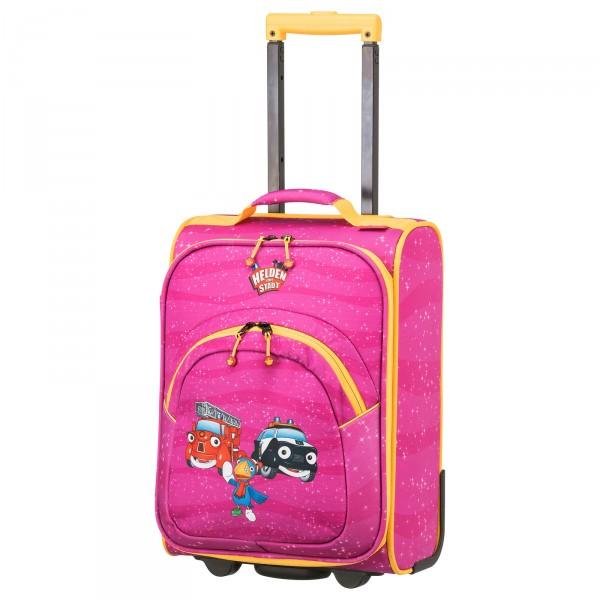 travelite HELDEN DER STADT Trolley 43cm 2 Rollen pink