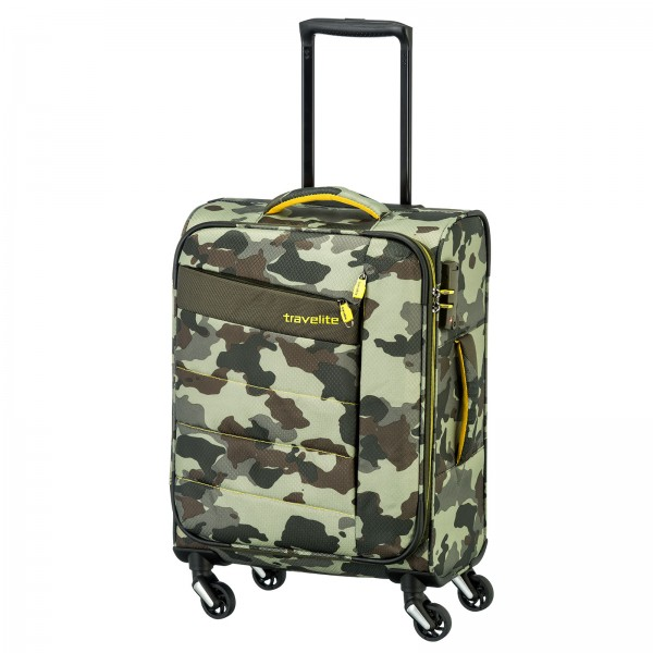 travelite Kite Modell 2017 Kabinentrolley 54 cm 4 Rollen camouflage