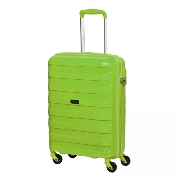 travelite Nova Kabinentrolley 55 cm 4 Rollen grün