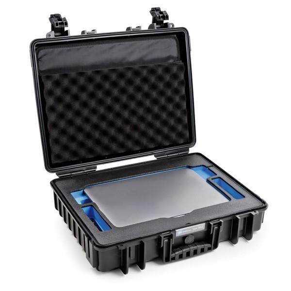 B&W Outdoor Case Typ 6040 für Apple MacBook Pro black