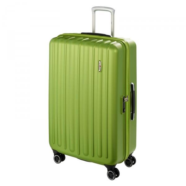 Harware Profile Plus Trolley 77 cm 4 Rollen grün - Frontansicht