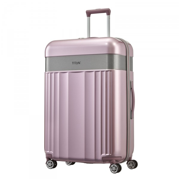 TITAN Spotlight Flash Trolley 76 cm 4 Rollen wild rose Schrägansicht
