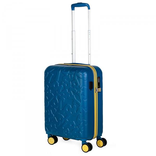 Lois Zion Kabinentrolley 55 cm 4 Rollen blue