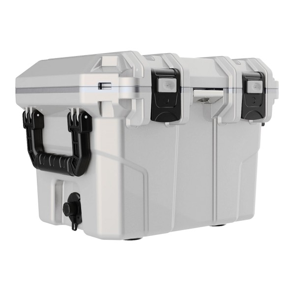 Tsunami Kühlbox 30 Quart Cooler Box 30 Liter white