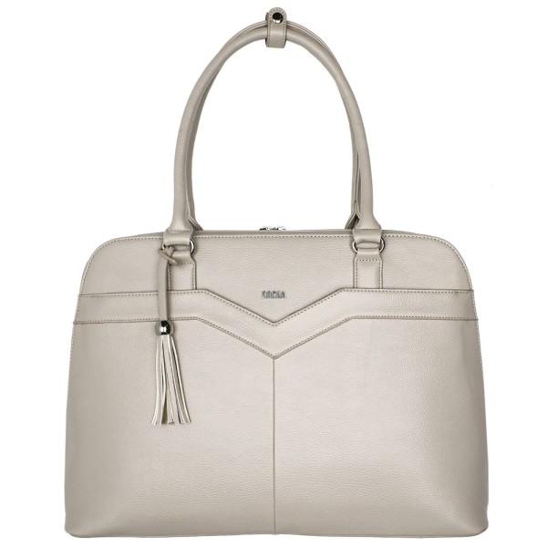 SOCHA Couture V Vanilla Business-Handtasche 44 cm vanille