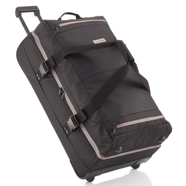 travelite Basics Doppeldeckertrolley Reisetasche 78 cm 2 Rollen