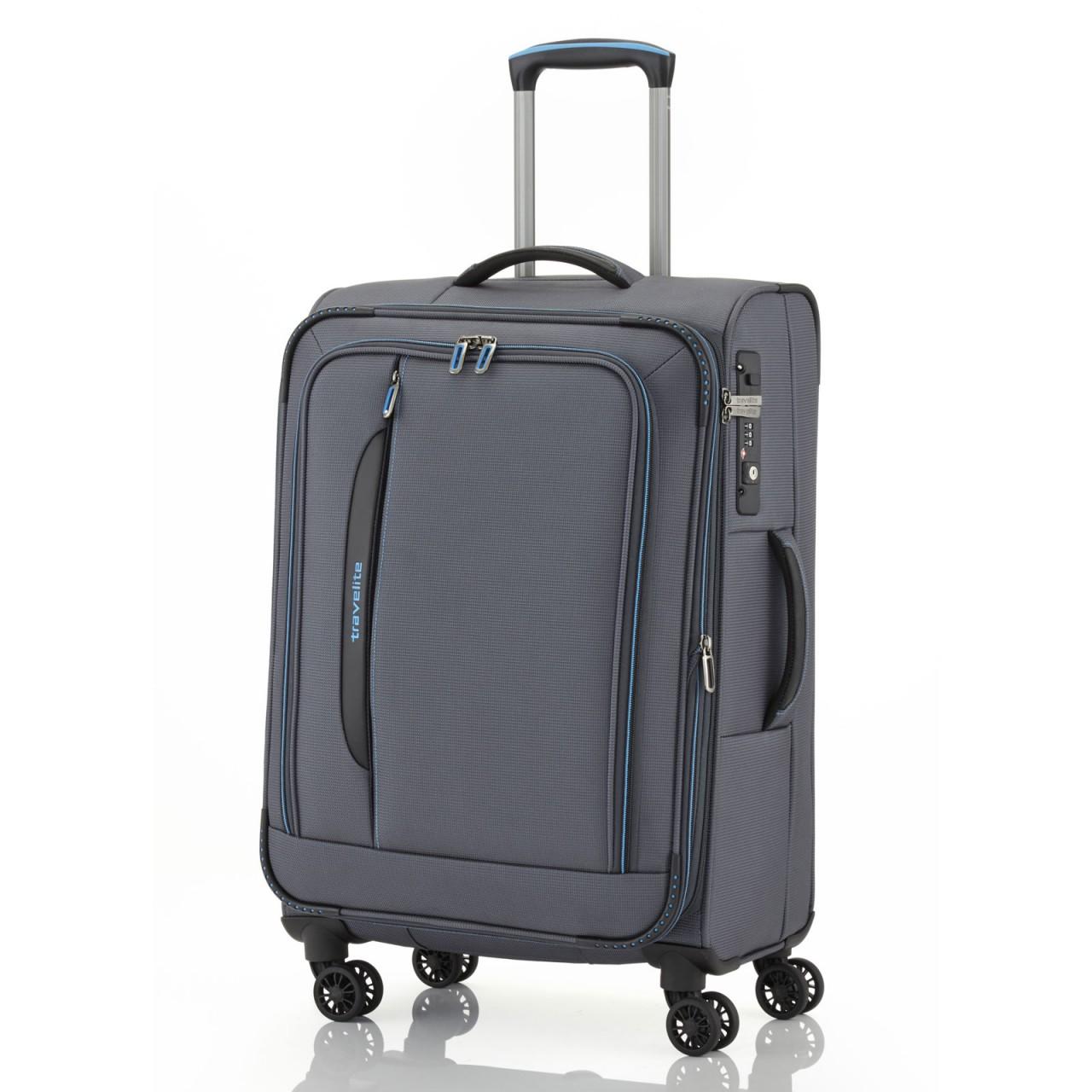 travelite crosslite trolley mittel g nstig kaufen koffermarkt. Black Bedroom Furniture Sets. Home Design Ideas