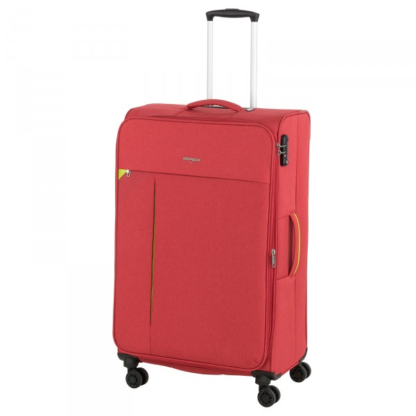 Hardware Revolution Trolley 80 cm 4 Rollen erweiterbar coral red