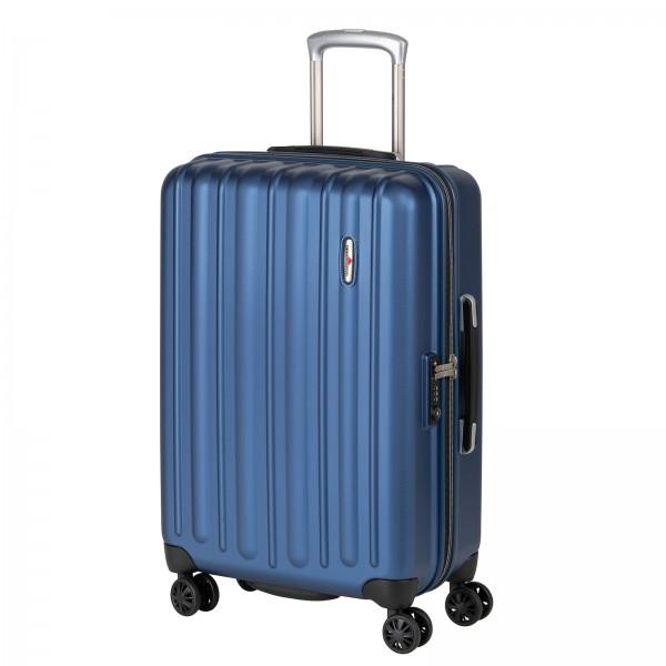 Hardware Profile Plus Trolley 66 cm 4 Rollen star blue Schrägansicht