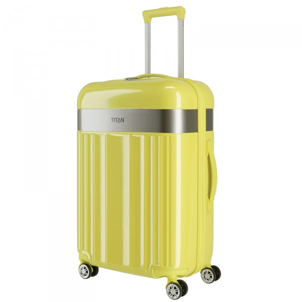 TITAN Spotlight Trolley 67 cm 4 Rollen lemon crush Schrägansicht