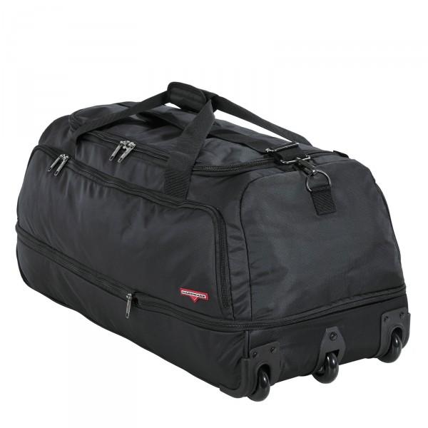 Hardware Move It Reisetasche 85 cm 3 Rollen schwarz - Seitenansicht mit Rollen