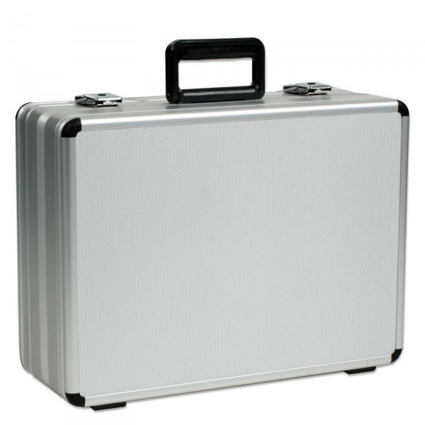 bwh Koffer Alu-Zargenkoffer AZKE Typ 6 silber - Frontansicht