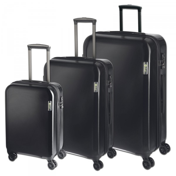 d&n Travel Line 8200 Kofferset schwarz