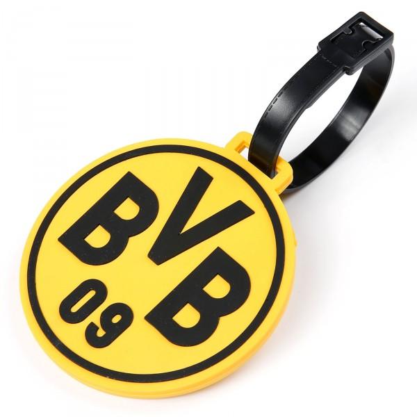 BVB Borussia Dortmund Kofferanhänger Frontansicht 1