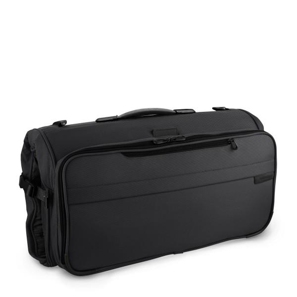Briggs & Riley Baseline Compact Kleiderhülle (in Taschenform) 56 cm black Schrägansicht