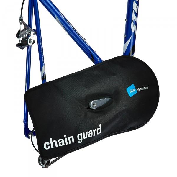 B&W Chain Guard Kettenschutz schwarz