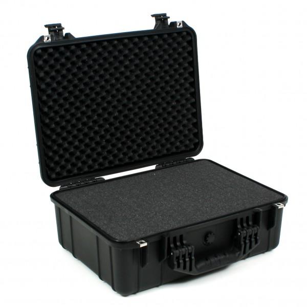 Koffermarkt Outdoorkoffer X-Large schwarz Innenansicht