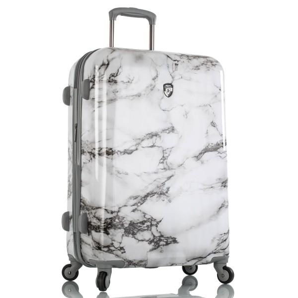 Heys Bianco Trolley 66 cm 4 Rollen erweiterbar White Marble