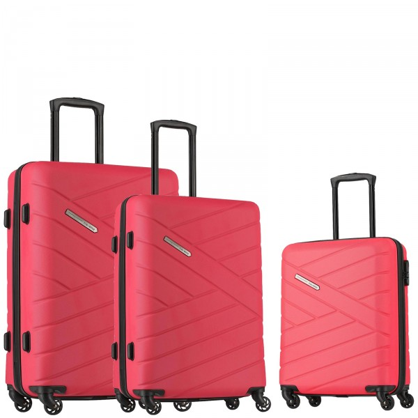 travelite Bliss Trolley Set 3-teilig pink