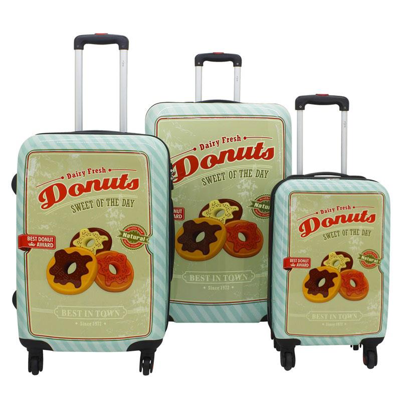 neu reisekoffer 2 4 kg f23 voyage donut kabinentrolley. Black Bedroom Furniture Sets. Home Design Ideas