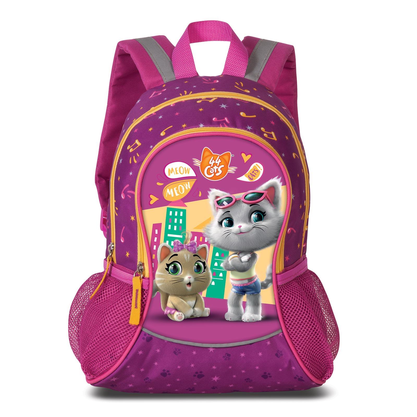 Fabrizio Kids 44 Cats Rucksack 35 cm - Pink 20624-3100