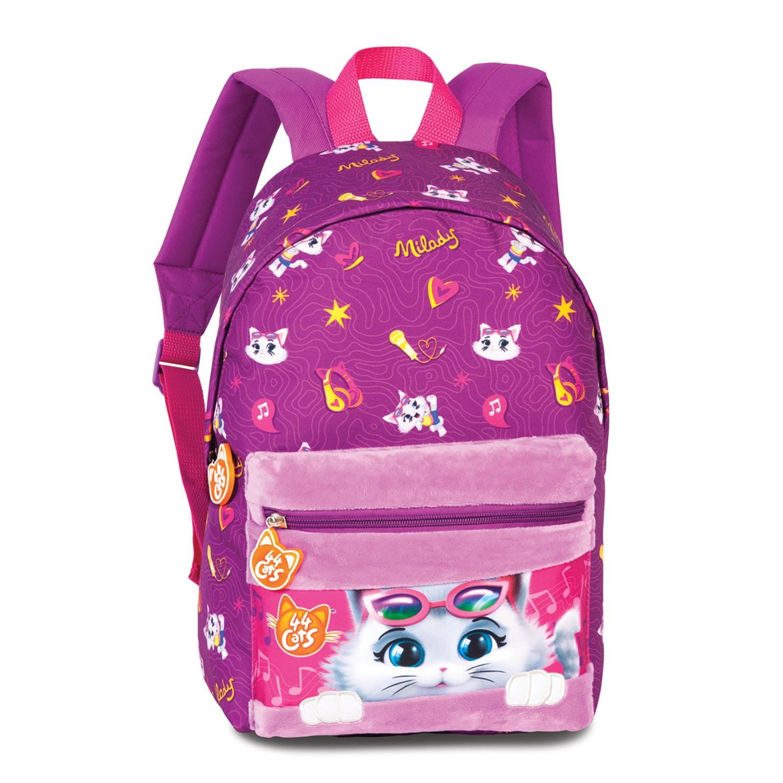 Fabrizio Kids 44 Cats Rucksack 36 cm - Pink 20629-3100