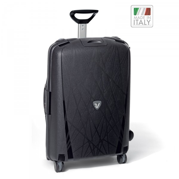 Roncato Light Trolley 75 cm 4 Rollen nero - Frontansicht