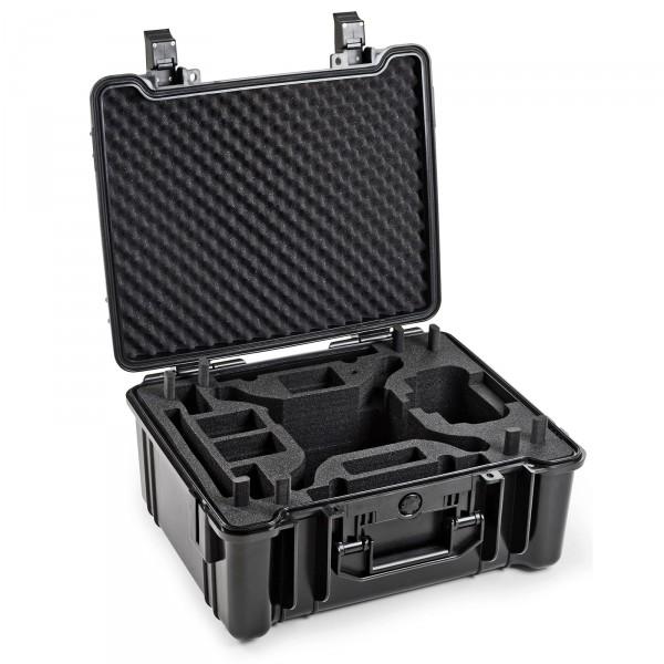 B&W Outdoo Case Typ 61 für DJI Phantom 4 Pro, Pro Plus, Advanced Schwarz Front