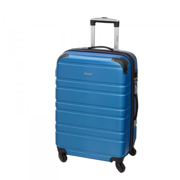 CHECK.IN Paradise Bern Trolley 67 cm 4 Rollen blau Frontansicht