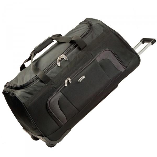 travelite Orlando Trolley Reisetasche 70 cm 2 Rollen schwarz