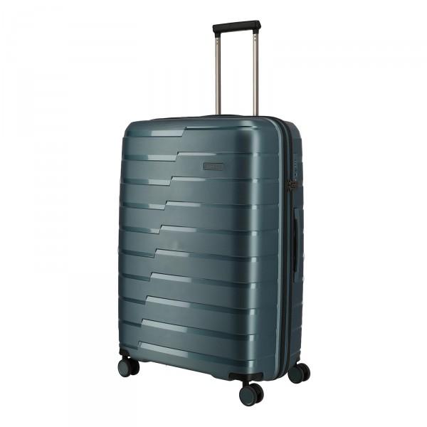 travelite Air Base Trolley 77 cm 4 Rollen eisblau