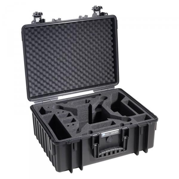 B&W Copter Case Typ 6000 schwarz für DJI Phantom 3 Pro/Adv