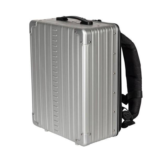 """ALEON Aluminium Backpack 17"""" Rucksack 42 cm"""