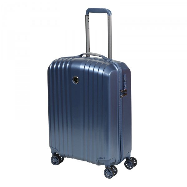 March15 Everest Kabinentrolley 55 cm 4 Rollen mid blue Frontansicht