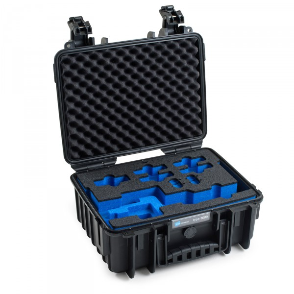 B&W Osmo Case Typ 3000 für DJI OSMO Mobile schwarz Innen leer